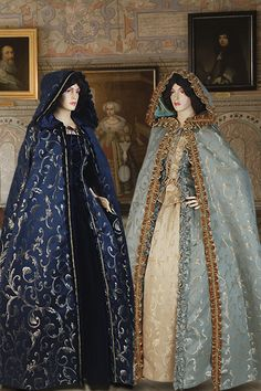 Renaissance Long Cape/Cloak No. 19 - 127.00 USD - Medieval and Renaissance Clothing, Handmade by Your Dressmaker