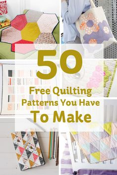 Quilting is so trendy right now, and you can see why when there's so many gorgeous projects out there! If you've never tried it before, don't be scared to give it a go - once you've got the hang of smaller projects, you'll be whipping up a quilt in no time!