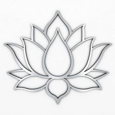 XL Lotus Flower Metal Wall Art with Brushed Metal Finish (measures 48 x Marked by crisp modern lines that only a laser can create, this sacred design is precision cut from high grade stainless steel thats both durable and lightweight.Lotus flowers me Yoga Wall Art, Extra Large Wall Art, Metal Sculpture Wall Art, Metal Sculpture, Flower Art, Metal Art Sculpture, Metal Tree Wall Art, Silver Wall Art, Wall Sculpture Art