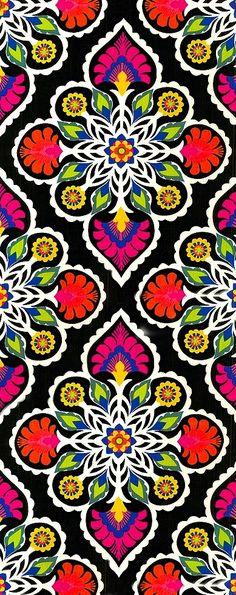 New Embroidery Mexican Pattern Colour 66 Ideas Pretty Patterns, Beautiful Patterns, Pattern Art, Pattern Design, Mexican Pattern, Arte Popular, Motif Floral, Mexican Folk Art, Collage Sheet
