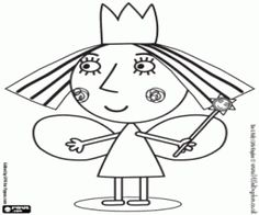 Ben and Holly coloring pages printable games Monster Coloring Pages, Coloring For Kids, Printable Coloring Pages, Coloring Pages For Kids, Coloring Books, Ben And Holly Party Ideas, Ben E Holly, Online Drawing, Easter Party