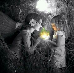 Indescribable Magic In The Innocence Of A Child || Fantasy Art/Photography/Magical Images