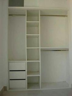 Ideas para orgsnizacion Alcove Wardrobe, Bedroom Wardrobe, Built In Wardrobe, Small Closet Space, Small Spaces, Trendy Bedroom, Girls Bedroom, Home Furniture, Furniture Design