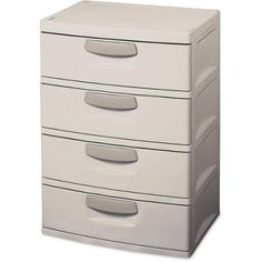 Sterilite 4-Drawer Cabinet - Walmart.com