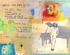 https://flic.kr/p/48gweq   A Minor Inconvenience.   Mixed Media on Canvas, 11 inches x 14 inches, 2007. Sold.