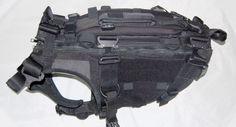 Frog Dog Modular Tactical Vest v3.0 from Cerberus K9 Solutions