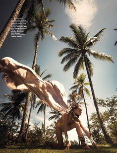 Harpers Bazaar Indonesia   Julia Jamil by Davy Linggar