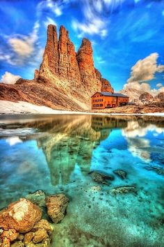 King Laurinos Towers, Dolomites, Italy