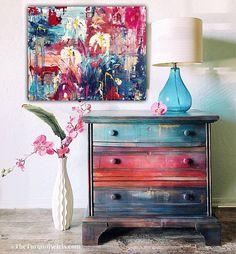 My Valentine painted furniture #ad