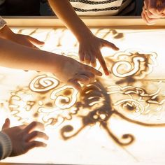 """ART LIGHT ACTIVITY TABLES USA on Instagram: """"How to draw with sand?❤️😍 If you are a beginner in sand drawing, these tips will be definitely helpful for you ☝🏽 ⠀ 1️⃣Sprinkle the surface…"""" Sand Drawing, Activity Tables, Light Art, Tribal Tattoos, Surface, Kid, Activities, Drawings, Instagram"""