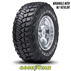 Goodyear Wrangler MT/R with Kevlar 35X12.50R17 111Q BW 35 1250 17 35125017