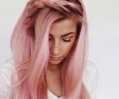 #prettyhair #pastelpink #pastelhair