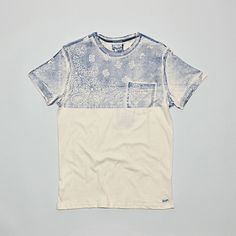 WRANGLER -T-shirt Paisley Ecru   Majestic