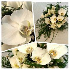 Ram de núvia amb cales i orquídies