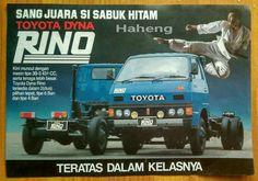 Toyota Dyna Rino Bus 3, Toyota Dyna, Vintage Trucks, Print Ads, Cars And Motorcycles, Legends, Japanese, Retro, Trucks