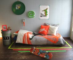 skater room from tanteted - Skater Bedroom Ideas