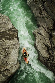 kayaking the gorge