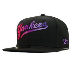【送料無料】ニューエラ キャップ レインボー ニューヨーク ヤンキース ブラック 帽子 [Y][P]
