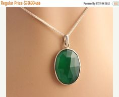 Hey, I found this really awesome Etsy listing at https://www.etsy.com/listing/129000084/green-onyx-pendant-green-pendant