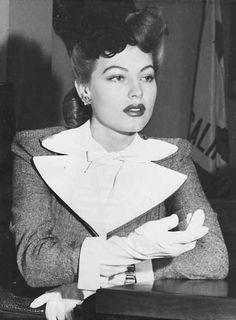 """gatabella: """" Ava Gardner divorcing Mickey Rooney, 1942 """""""