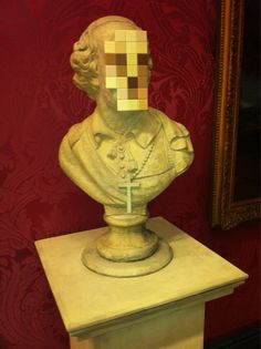 New Banksy museum piece, on display at The Walked Art Gallery, Liverpool, England.