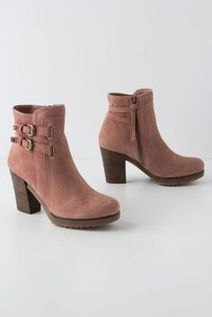 Would be so pretty with a long skirt.  --Leni Ankle Boots @ Anthropologie