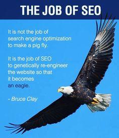 The job of SEO.  #seo #workharder #BrevardSEO #BrevardCountySEO #ShopLocal