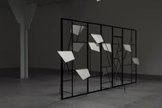 The Modern Institute / Exhibitions / Martin Boyce: 'Electric Trees and Telephone Booth Conversations', FRAC des Pays de la Loire, Carquefou, France, 2007 / Images