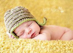 Camo Hat Knitting Pattern All Sizes Newborn by MelodysMakings