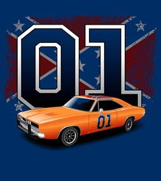 Ideas for dodge truck general lee General Lee Car, Dukes Of Hazard, Smokey And The Bandit, 1969 Dodge Charger, Southern Pride, Confederate Flag, 4x4 Trucks, Mopar, Cool Cars