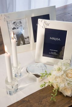 photo frames from the mikasa love story collection available from creative tops www