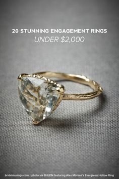 See 20 Stunning Engagement Rings Under $2,000!