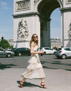 OLIVIA PALERMO | Paris | Arco do Triunfo