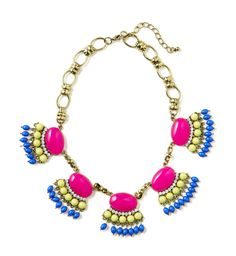 #ComingSoon #SpringPreview   JCPenney Statement Necklace  In Store & Online – March