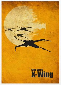 X-Wing poster #StarWars
