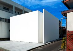Blank White Box: Whole New Extreme for Minimalist Homes