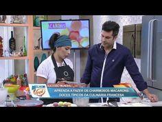 Chefs em Ação | Macarons com Ganache de chocolate ao leite - 19 de Outubro de 2016 - YouTube