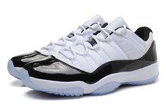 low priced 392a8 cded8 Air Jordan 11 Low Concord White Black Dark Concord 528895 153 Hot Sale Air  Jordan 11s