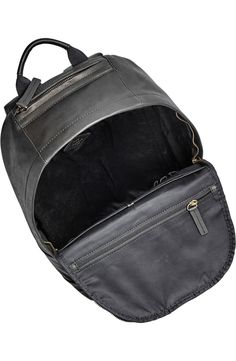 Fossil 'Ledge' Leather Backpack available at Backpack Outfit, Men's Backpack, Fossil, Messenger Bag, Satchel, Vintage Fashion, Laptop, Nordstrom, Classic
