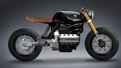 Bmw K100. Absolute simplicity -the essence of café racer culture- and an effective, yet beautiful rear suspension. (G.)