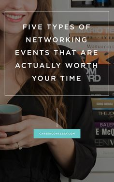 Here's how to pick out the events that are perfect for you. Career Contessa By: Kelly Ayres Networking Events, Business Networking, Business Advice, Career Advice, Career Planning, Career Path, Business Marketing, Internet Marketing, Event Planning