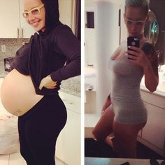 Amber Rose shows off her new mama curves and biggest baby bump!