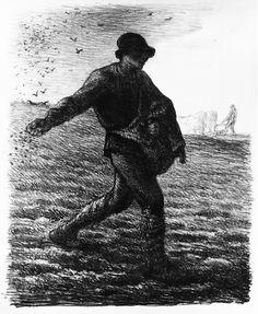jean-françois millet, the sower, 1851