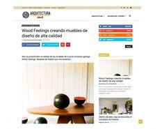 REVISTA ARQUITECTURA IDEAL Mesa Sanbe #Madera #Wood #Design #Deco #Woodfeelings Wood Feelings | CoolMaison