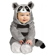 Baby Raccoon Costume Baby Halloween Fancy Dress