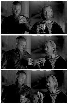 Ragnar and King Ecbert