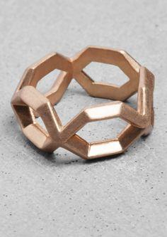 Geometric Matte Ring | Geometric Matte Ring | & Other Stories