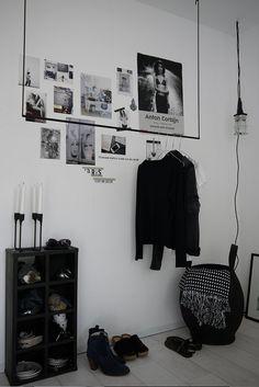 Vosgesparis: New bedroom - coat rack project {inspired by Paris}