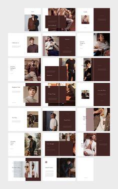LOVE Men's Fashion Lookbook by flowless on @creativemarket Design Portfolio Layout, Magazine Layout Design, Book Design Layout, Mise En Page Lookbook, Lookbook Layout, Catalogue Layout, Design Presentation, Fashion Lookbook, Men's Fashion
