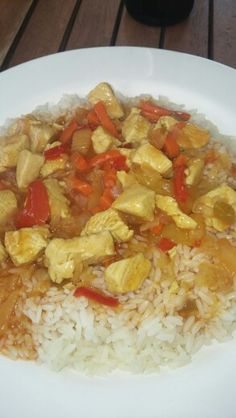 Rice and Chicken Sweet'n'Sour ❤❤❤